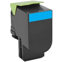 LEXMARK 70C1XC0 (701XC) Laser Toner Cartridge Extra High Yield Cyan