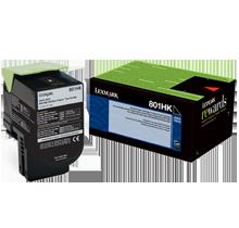 Lexmark 80C1HK0 Laser Toner Cartridge Black