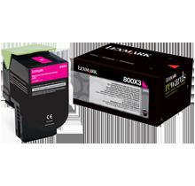 Lexmark 80C1HM0 Laser Toner Cartridge