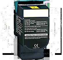 LEXMARK / IBM C544X1YG High Yield Laser Toner Cartridge Yellow