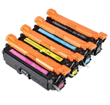 HP 201A Laser Toner Cartridge Set Black Cyan Yellow Magenta