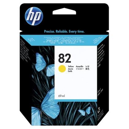 HP C4913A (82) INK / INKJET Cartridge Yellow