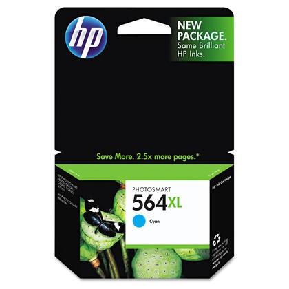 Brand New Original HP CB323WN (564XL) INK / INKJET Cartridge Cyan