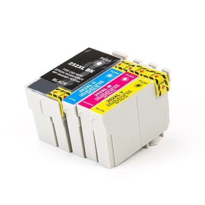 EPSON T252XL SET INK / TONER Cartridge Black Cyan Yellow Magenta