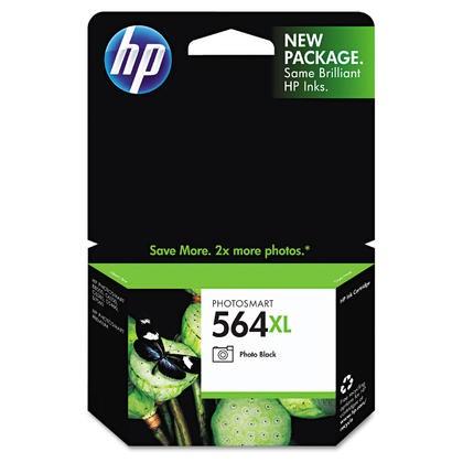 Brand New Original HP CB322WN (564XL) INK / INKJET Cartridge Photo Black NO CHIP
