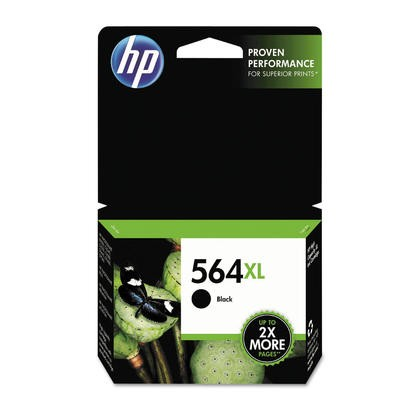 Brand New Original HP CB321WN (564XL) INK / INKJET Cartridge Black WITH CHIP