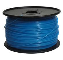 3D Printing N3D-ABS-G-Bu Glow Blue Laser Toner Cartridge Glow Blue 1KG / Roll Glow In Dark Diameter 1.75mm