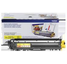 BROTHER TN-221Y Laser Toner Cartridge Yellow