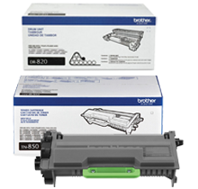 ~Brand New Original BROTHER DR820 / TN850 High Yield Laser Toner Cartridge DRUM UNIT COMBO Pack