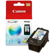CANON CL-211XL HIGH YIELD INK / INKJET Cartridge Tri-Color