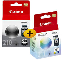 CANON P-PG-210 / P-CL-211 INK / INKJET Cartridge
