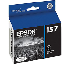 ~Brand New Original EPSON T157820 INK / INKJET Cartridge Matte Blac
