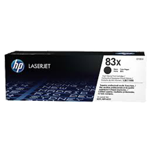 HP CF283X (83X) High Yield Laser Toner Cartridge Black