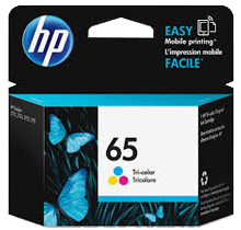 ~Brand New OEM Original HP N9K01AN (#65) INK / INKJET Cartridge Tri-Color