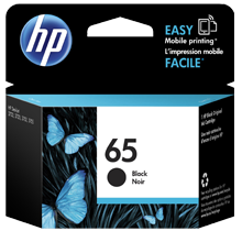 ~Brand New OEM Original HP N9K02AN (#65) INK / INKJET Cartridge Black