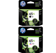 ~Brand New OEM Original HP OEM-N9K03AN / N9K04AN (#65XL) High Yield INK / INKJET Cartridge Combo Pack Black Tri-Color
