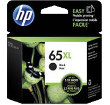 ~Brand New OEM Original HP N9K04AN (#65XL) High Yield INK / INKJET Cartridge Black