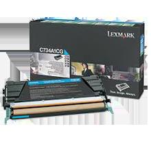 Brand new Original LEXMARK C748H1CG Laser Toner Cartridge Cyan