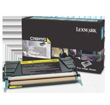 Brand new Original LEXMARK C748H1YG Laser Toner Cartridge Yellow