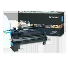 Brand new Original LEXMARK C792X1CG Laser Toner Cartridge Cyan High Yield