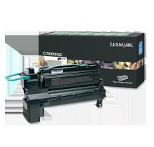 Brand new Original Lexmark C792X1KG Laser Toner Cartridge Black High Yield