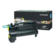 Brand new Original Lexmark C792X1YG Laser Toner Cartridge Yellow High Yield