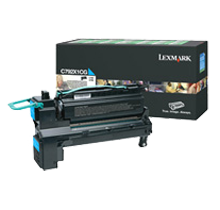 Brand New Original LEXMARK X792X1CG Laser Toner Cartridge Cyan High Yield