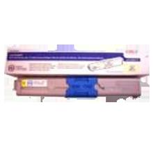 ~Brand New Original OKIDATA 44469737 Laser Toner Cartridge Yellow
