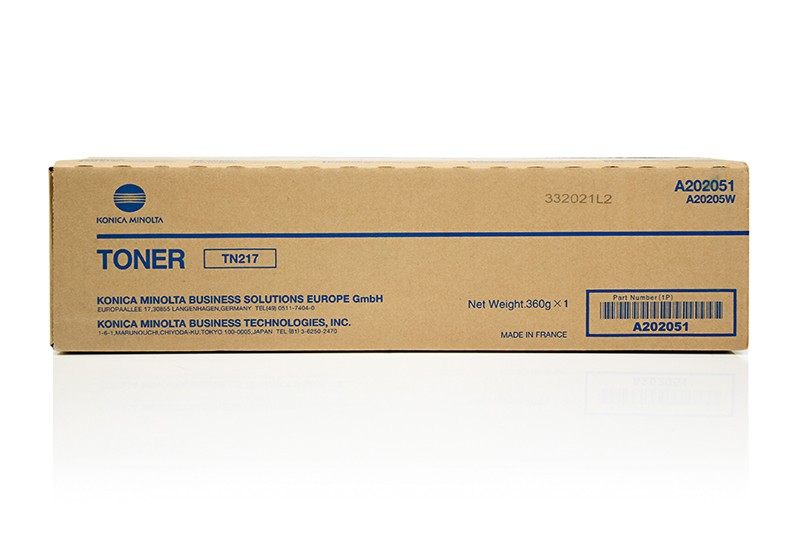 Brand New Original KONICA MINOLTA TN-217 Laser Toner Cartridge Black