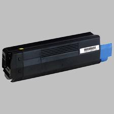OKIDATA 42127401 Laser Toner Cartridge Yellow High Yield