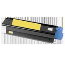 OKIDATA 43034801 Laser Toner Cartridge Yellow