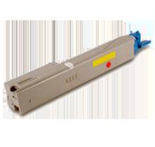 OKIDATA 43459301 Laser Toner Cartridge Yellow High Yield