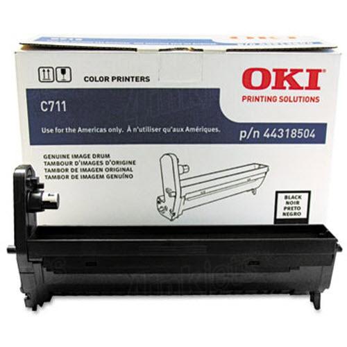 ~Brand New Original OKIDATA 44318504 Laser DRUM / IMAGING Unit Black