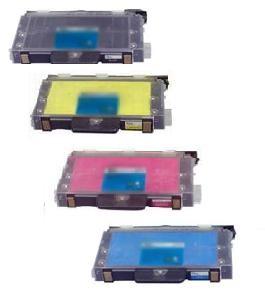 PANASONIC KX-PKP Set Laser Toner Cartridge Set Black Cyan Yellow Magenta