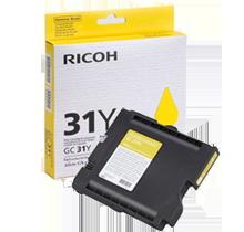 Brand New Original Ricoh 405691 (GC-31Y) Ink/Inkjet Cartridge Yellow