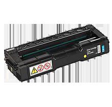 RICOH 406047 Laser Toner Cartridge Cyan