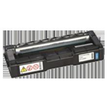 RICOH 407654 (C252HA) Laser Toner Cartridge Cyan