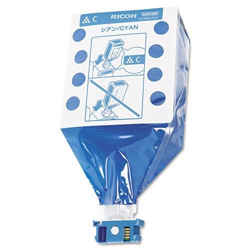 Ricoh 888375 Laser Toner Cartridge Cyan