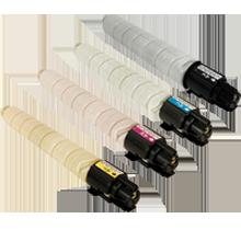 RICOH MPC-306 Laser Toner Cartridge Set Black Cyan Magenta Yellow