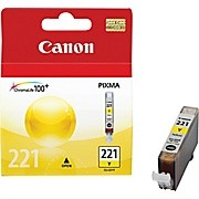 Original CANON CLI-221Y INK / INKJET Cartridge Yellow