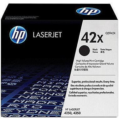 ~Brand New Original HP Q5942X HP42X Laser Toner Cartridge High Yield