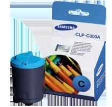~Brand New Original SAMSUNG CLP-C300A Laser Toner Cartridge Cyan