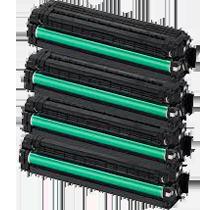 Compatible with SAMSUNG CLP-415 Laser Toner Cartridge Set Black Cyan Yellow Magenta