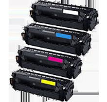 Compatible For SAMSUNG CLT-503L High Yield Laser Toner Cartridge Set Black Cyan Yellow Magenta