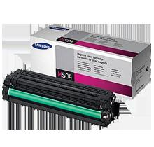 ~Brand New Original SAMSUNG CLT-M504S Laser Toner Cartridge Magenta