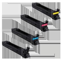 SHARP MX-C40NT Laser Toner Cartridge SET Black Cyan Yellow Magenta