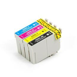 EPSON T220XL INK / INKJET Cartridge Set Black Cyan Magenta Yellow