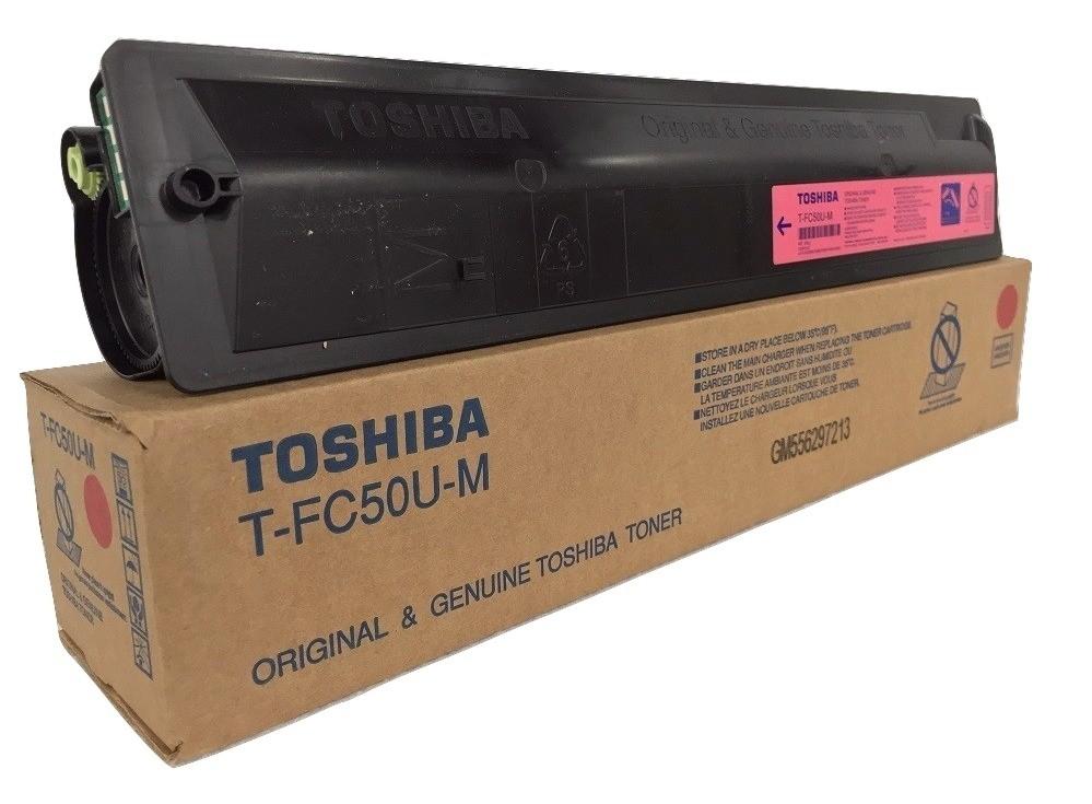 ~Brand New Original TOSHIBA TFC50UM Laser Toner Cartridge Magenta