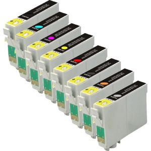 EPSON T157 INK / INKJET Cartridge Set Photo Black Cyan Vivid Magenta Yellow Light Cyan Vivid Light Magenta Light Black Matte Black Light Light Black