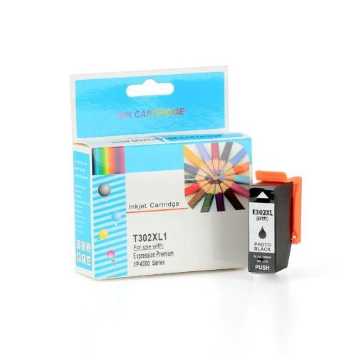 Epson T302XL120 Inkjet Cartridge Black High Yield